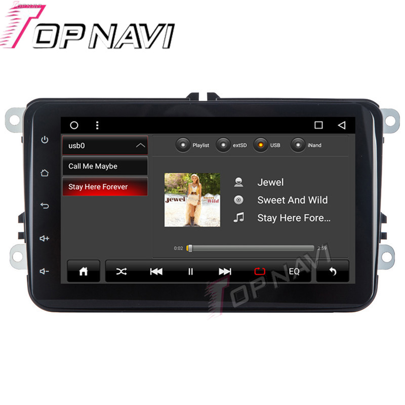 Auto Media for VW Universal Android 6.0 8 WANUSUAL Car GPS Navigation Radio Tuner Support Original Amplifier with Free Map