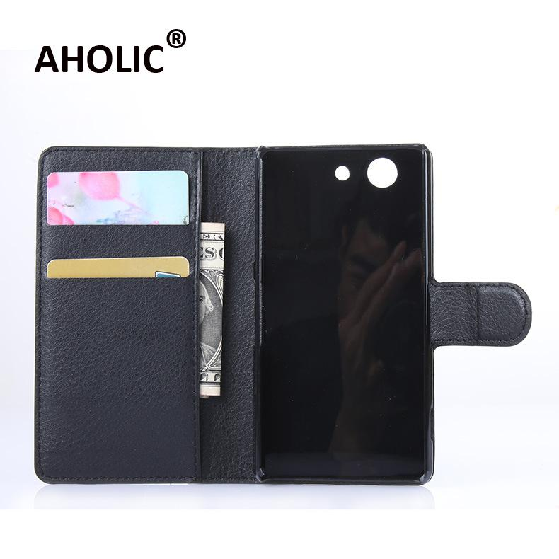 For Sony Xperia Z4 Mini Luxury Wallet PU Leather Case for Sony Xperia Z4 Compact Case 4.6Stand Flip Card Hold Phone Cover Bags