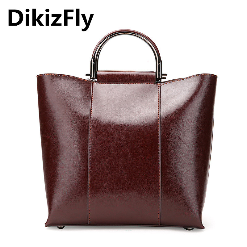 DikizFly Bag Luxury Women Bag Split Leather Handbag Women Fashion Totes New Crossbody Bags Classic Solid Female Bags Sac a Main 100% genuine leather women bags luxury serpentine real leather women handbag new fashion messenger shoulder bag female totes 3