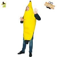 Nueva Hot Plátano Traje De Fiesta Divertido de La Novedad de Halloween Carnaval Navidad Decoraciones de la Fiesta de Disfraces Para Adultos Hombres Mascarada de Alimentos