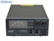 Abbree PS30SW III 13.8 V DC 30A Unidad de Potencia para la Estación Base de Radio de Coche Móvil de Radio Transmisor-Receptor Transmisor