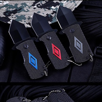 Hot Sale Adults Pocket Self-defense Survival Knife Outdoor Sports Hunting Working Defense Stinger defensa personal Tactical Kits 4