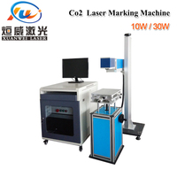 Co2 Laser Marking Machine Acrylic Cloth Leather Wood Ceramic Plastic Rubber Mahogany 10w/30w Laser Engraving Carving Machine