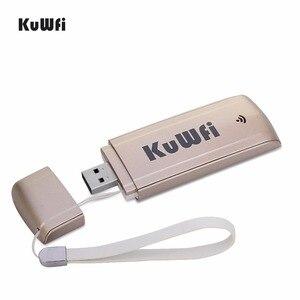 Image 1 - Déverrouiller 4G LTE USB Modem 3G/4G Wifi Dongle 100Mbps 4G voiture sans fil WIFI routeur avec fente pour carte SIM 4G routeur pour Mac OS Windows