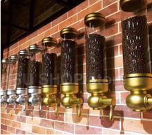 1 шт нержавеющая сталь & Акриловые 6kgs дозатор кофейных зерен/контейнер