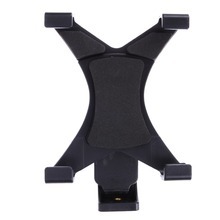 Universal Black Tablet Tripod Mount Clamp Adapter Holder Bracket Clamp 1/4″ Thread Adapter for 7″~10.1″ Tablets Pad High Quality