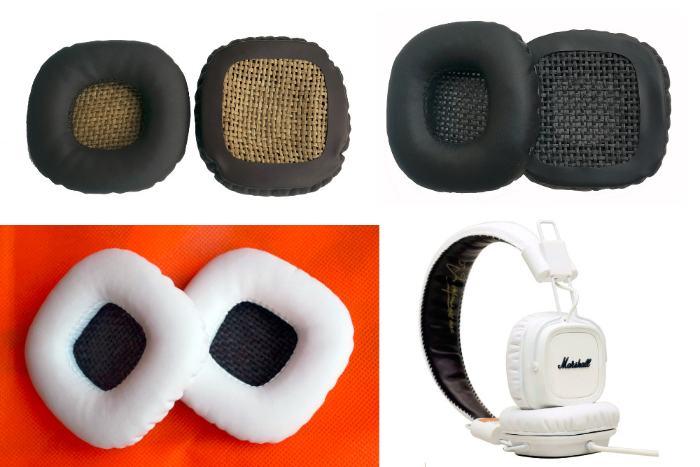Maintenance parts Replace cushion for Marshall major & Marshall major ii headphones. Lossless sound quality ear pads/earmuffs