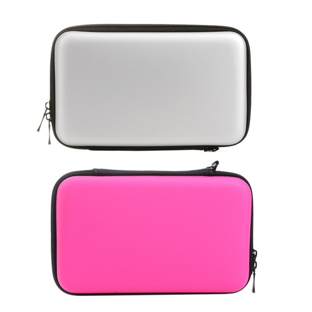 New Portable Skin Carry Carring Hard Case EVA Storage Bag for Nintendo 3DS XL LL Protective Storage Cases for 3DS With Strap