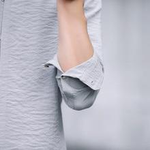 Men Casual Shirt Formal Business Arrival Spring Long Sleeve Casual Shirts Men Mandarin Slim Fit Brand Clothing Plus Size M 5XL