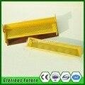 Amarillo De Plástico Trampa De Polen De Abeja Para La Apicultura, Herramientas de apicultura