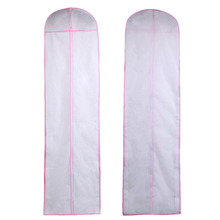 20pcs/lot 180cm Non-woven Bridal Gown Formal Dress Evening Wedding Dresses Dust Cap Bag Garment Clothing Storage Cover ZA4230
