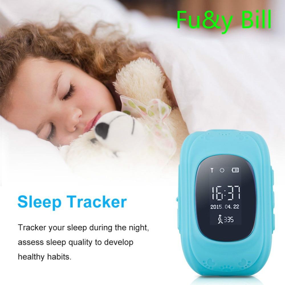 (10 шт./лот) анти потерял Q50 OLED ребенок GPS трекер SOS Smart мониторинга положение телефон дети GPS часы, совместимые с iOS и Android