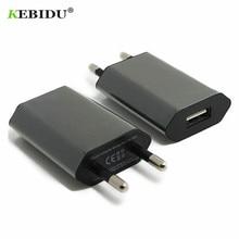 Kebidu EU/US USB зарядное устройство 5 В AC настенный USB Домашний дорожный адаптер питания для Apple iPhone 5 5S 5C 6 6S 7 для iPhone USB зарядное устройство