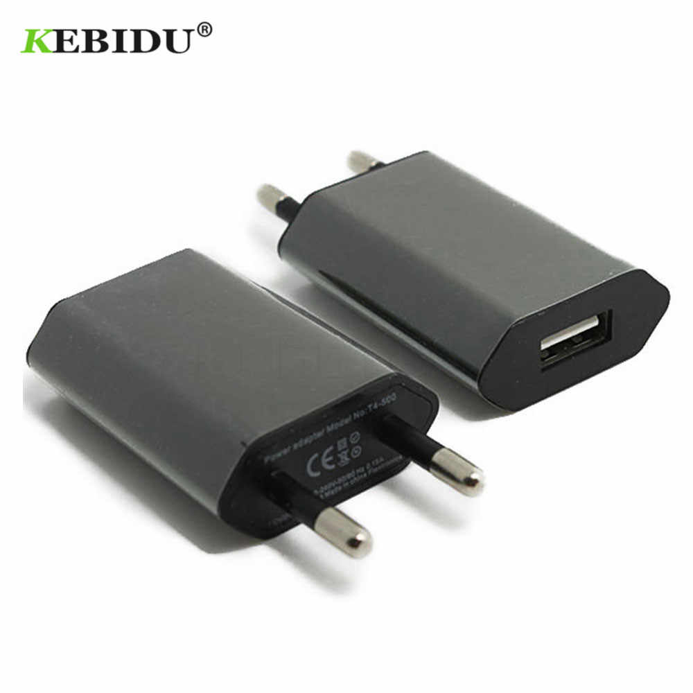 Kebidu EU/US Plug USB Charger 5 V AC Wall USB Home Reizen Power Adapter Voor Apple iPhone 5 5 S 5C 6 6 S 7 Voor iPhone USB Charger
