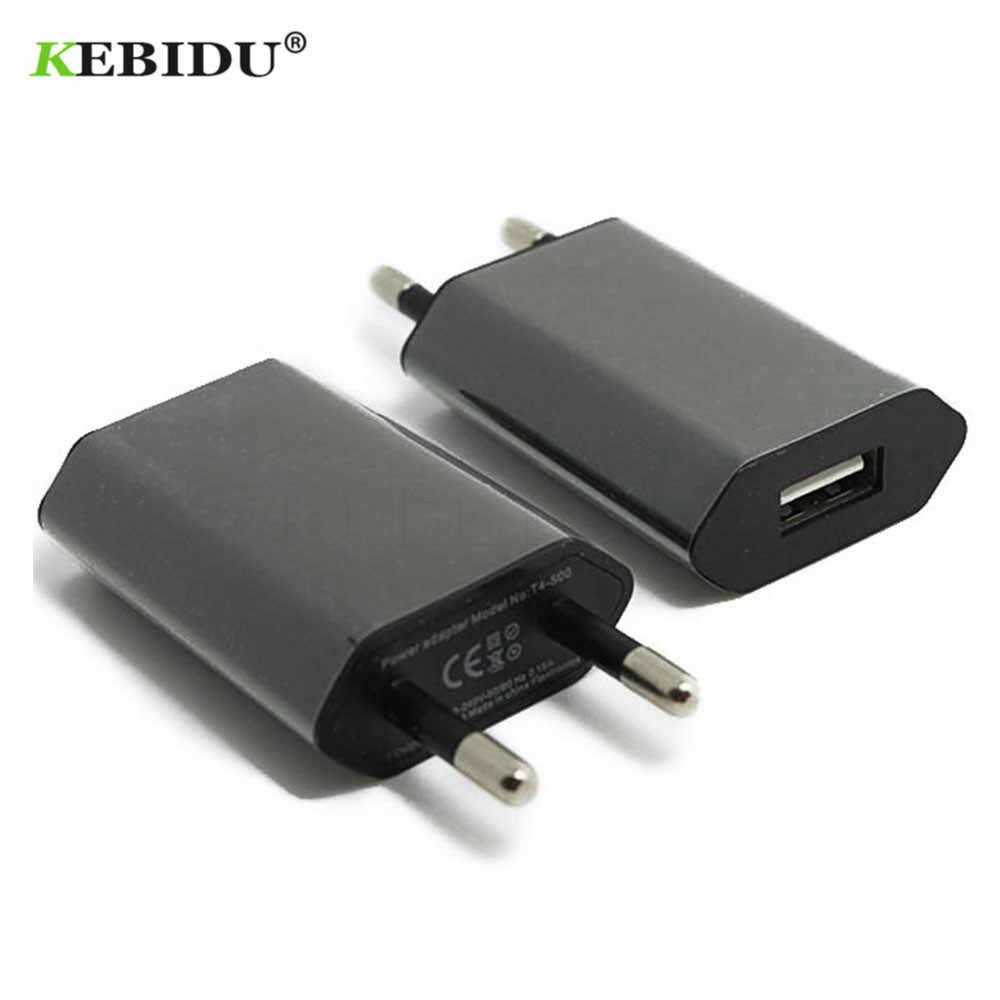 Kebidu EU/MỸ Cắm Sạc USB 5 V AC Tường USB Nhà Du Lịch Điện Cho iPhone 5 5 S 5C 6 6 S 7 Cho iPhone Sạc USB