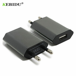 Kebidu EU/US Plug USB Charger 5V AC Wall USB Home Travel Power Adapter For Apple iPhone 5 5S 5C 6 6S 7 For iPhone USB Charger