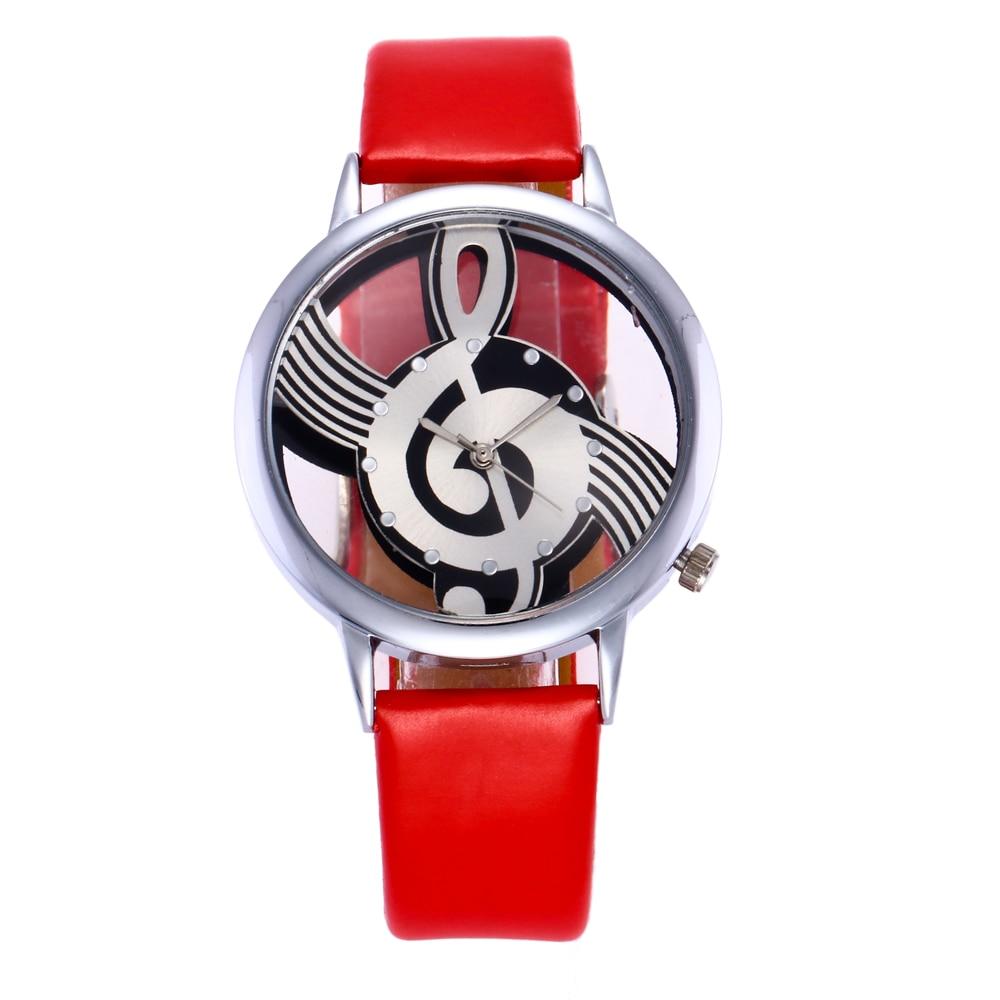 Exquise hoge kwaliteit lederen waterdicht horloge Top Fashion vrouwen - Dameshorloges - Foto 2