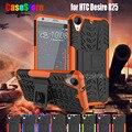Для HTC Desire 825 Дело Двухслойный Броня Гибридный Kickstand ударопрочный Жесткий Силиконовой Резины Военный Чехол для HTC 825 Принципиально капа