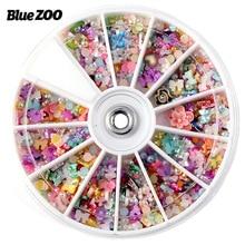 Hot 1200 Granule Gel Polishi Decorations Japanese Nail Art Sticker DIY Decoration Nail Polish Chip Pearl