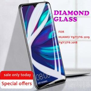 Image 5 - 強化ガラススクリーンプロテクターhuawei社Y9 Y7 Y6 Y5 2019 huawei社のY9 Y7 Y6 Y5 2018プライム2018 9保護ガラス