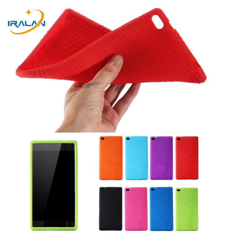 Soft Silicon Rubber TPU Back Case For Lenovo Tab4 Tab 4 7 Essential TB-7304 TB-7304F TB-7304I TB-7304X 7.0 inch Tablet Cover+Pen qosea for lenovo tab 7 essential 2017 tb 7304 7304f 7304i 7304x pu leather smart stand case 7 0 inch tablet pc stand back cover