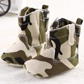 hot sale cool baby boy Camouflage warm winter booties Baby Moccasins shoe toddler kid child First Walker soft sole
