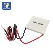1 pces tec1 12715 136.8w 12v-15.4v 15a tec refrigerador termoelétrico peltier (TEC1-12715)