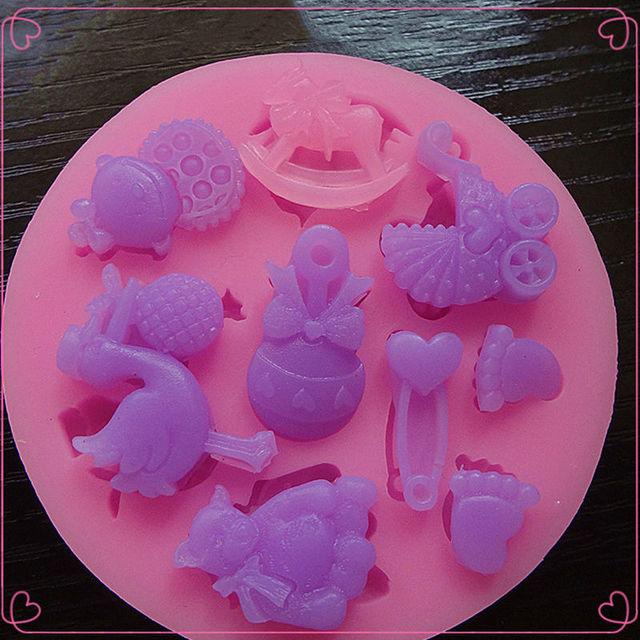 3D Silicone Cake Decoration