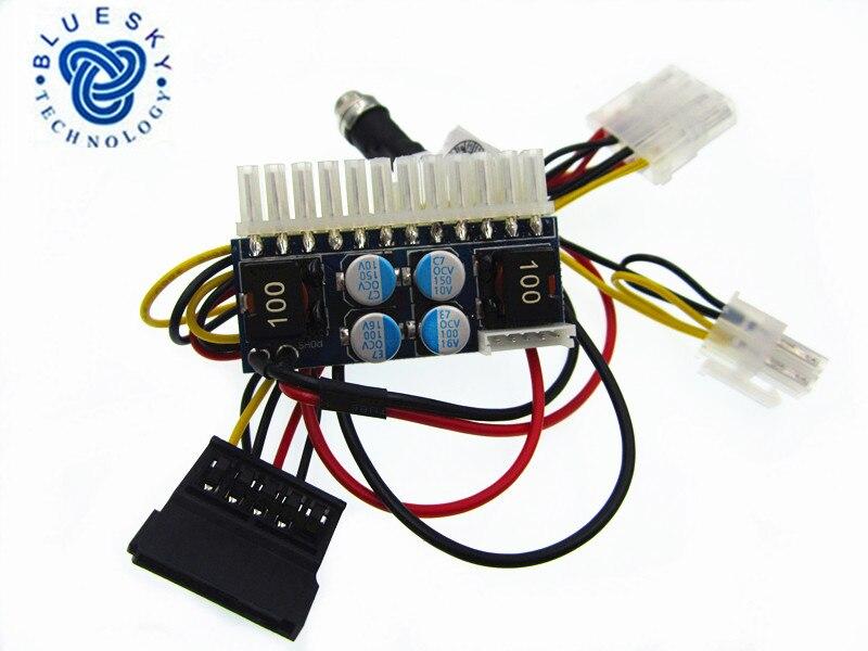 Free Shipping 1PCS LOT DC ATX 160W 160W Power Supply Module 24pin mini ITX DC ATX
