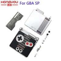 Para GameBoy Advance SP Classic NES Edición Limitada carcasa de repuesto para GBA SP funda carcasa cubierta