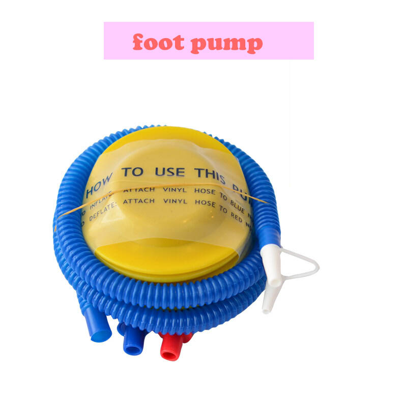10cm Mini Foot Pump balloon Inflatable accessories Inflator Air Pump Birthday Party Supplies portable Foil Latex balloon pump in Ballons Accessories from Home Garden