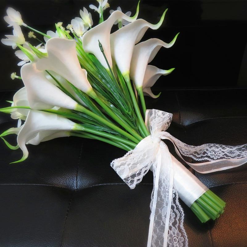 Свадебные букеты из калл для невесты 2017