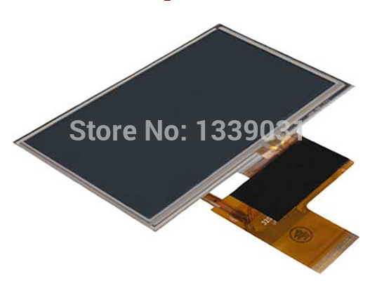 original 4.3 for Navigon 42 premium lcd screen display panel with touch screen digitizer lens