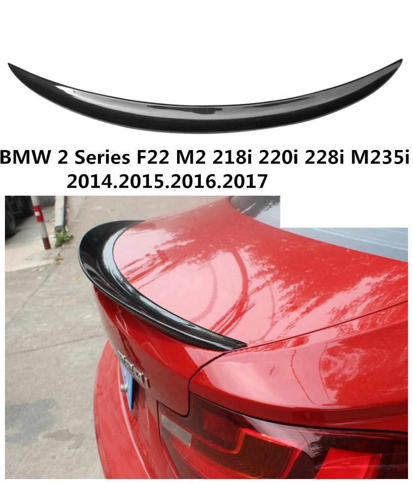 車用カーボンファイバースポイラーbmw 2シリーズf22 m2 218i 220i 228i M235i 2014.2015.2016.2017高品質自動スポイラーディフューザー