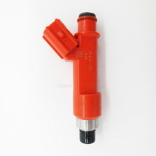 6PCS 100% original OEM:1001-87F90 100187F90 850CC fuel injector For Exige Elise toyota supra Matrix Corolla Yaris Celica GS300