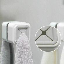 Креативная самоклеящаяся ткань для чая, вешалка для полотенец, настенный держатель для салфеток, для кухни, ванной комнаты, 2 цвета