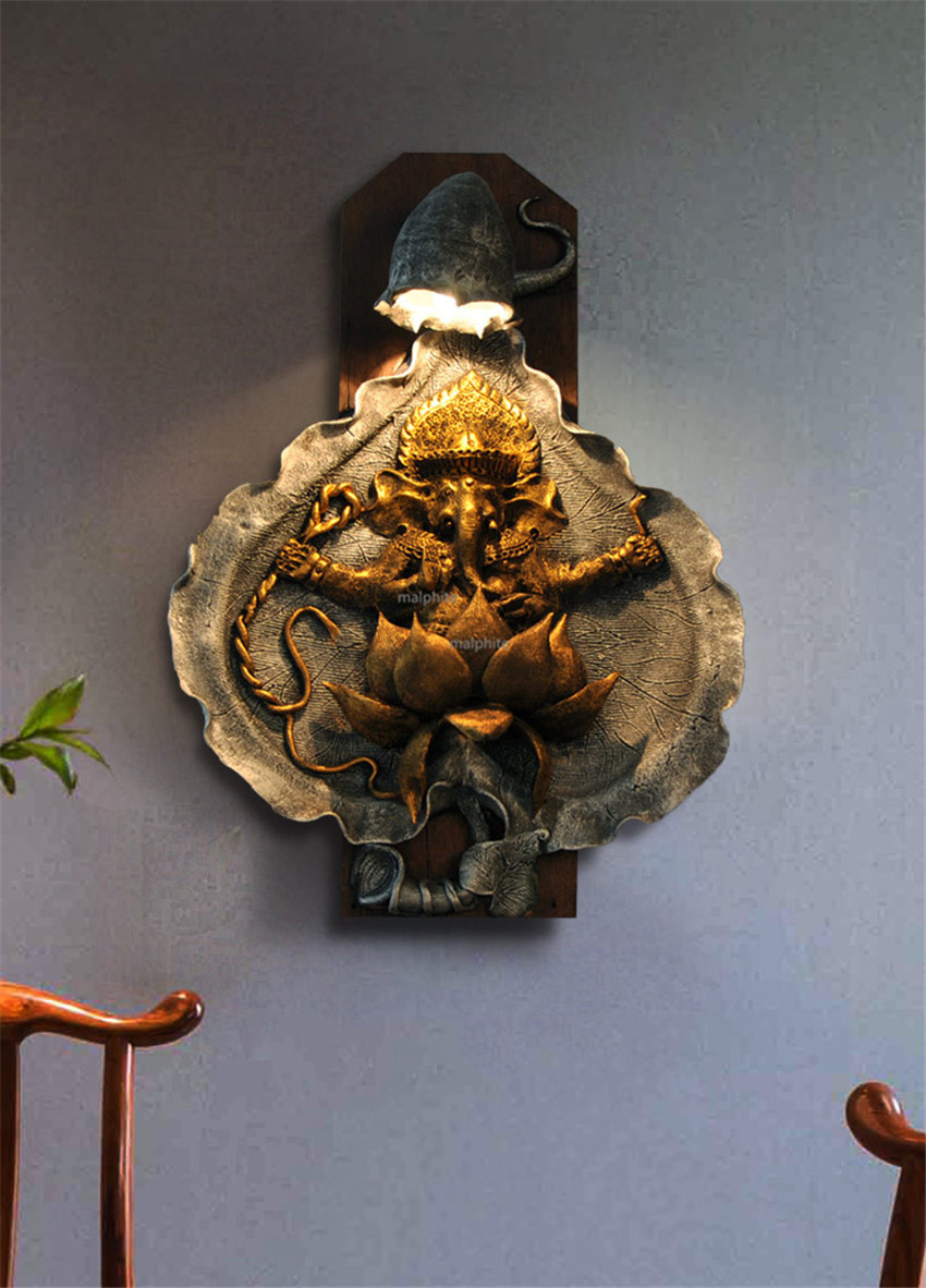 Southeast Asian Style Led Wall Lamp