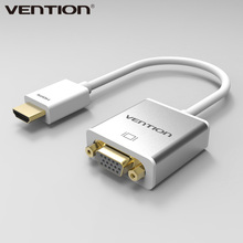 Vention HDMI to VGA Adapter Converter Cable Male to Female Audio & Micro USB port power for XBOX PS3 4 Active HDMI VGA converter