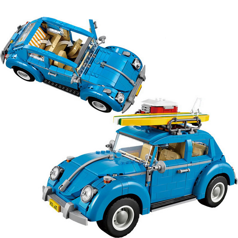 1193 unids YL003 Técnica Volkswagen Bettle Vehículo Compatible Lepin Bloques de