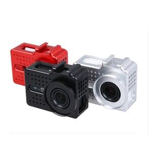 Image 3 - Новый Для Xiaomi Yi 2 4k аксессуар алюминиевый сплав металлический корпус рамка защитный чехол yi клетка для Xiao Yi 4k Экшн камера