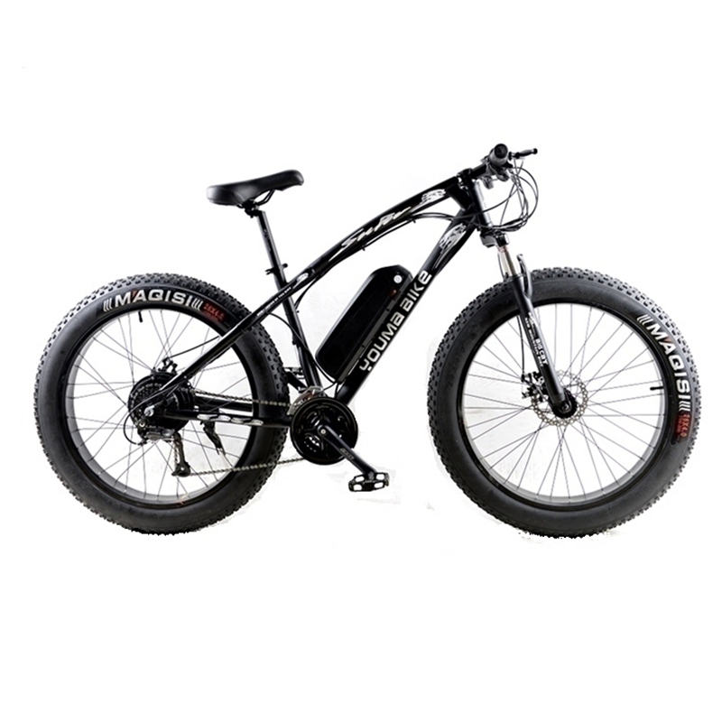 New 48V 500W Samsung Lithium Battery Electric Bicycle 10AN Large Capacity 27 Speed Shimano 26 X4.0 Electric Snow Bike new 3 7v12ah new high capacity lithium polymer battery 12000mah three yuan lithium electric car batteries
