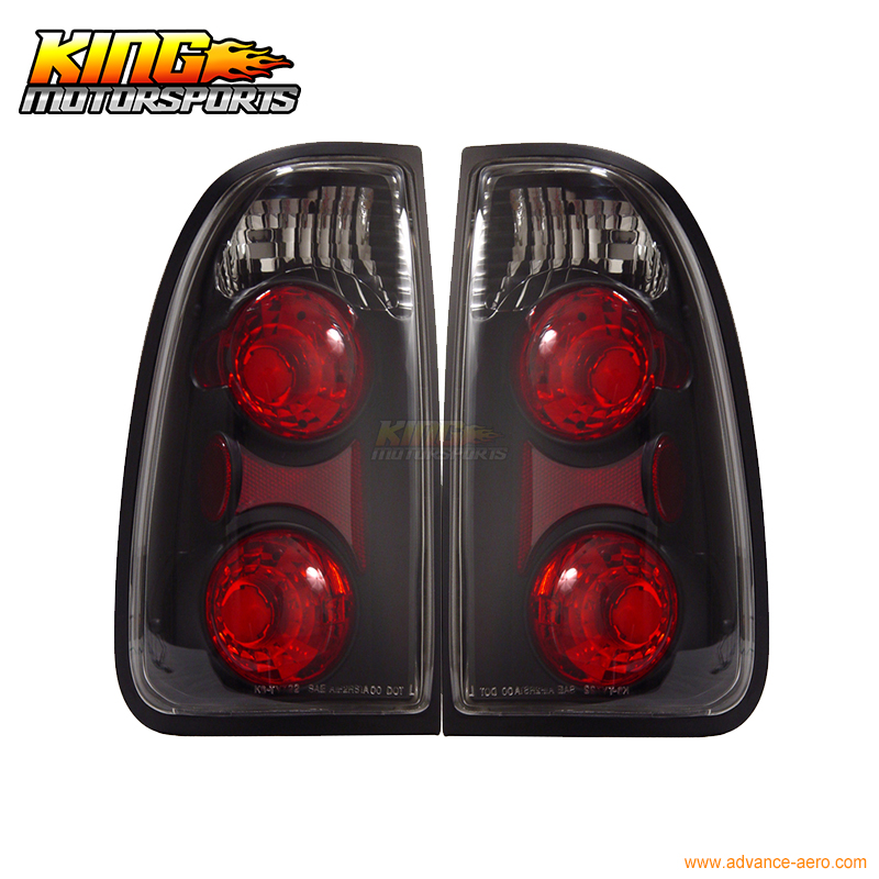 For 00-01 02 03 04 Toyota Tundra Tail Lights Lamps Black USA Domestic Free Shipping for 97 98 99 nissan maxima 4 pcs tail lights red clear usa domestic free shipping