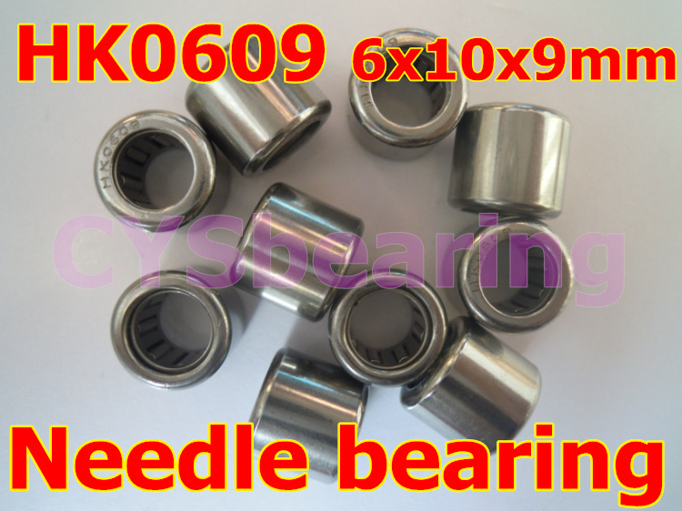 HK0608 Needle Roller Bearing 6mm x 10mm x 8mm TLA608Z