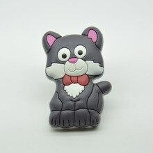 Детей ручку предотвратить мягкий серый кот кабинет ящика ручки малыша мебель ручку