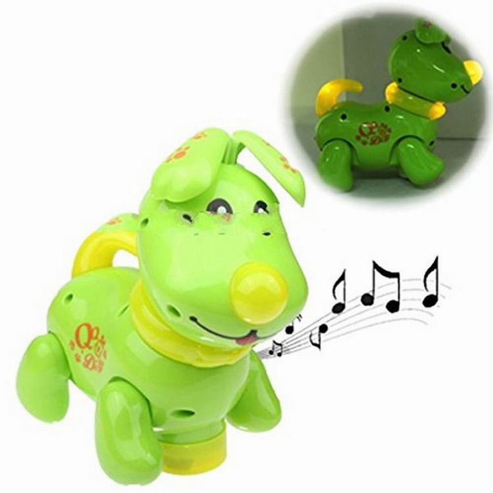 Educational Misical Flashing Plastic Cute Toy Electronic Pet QQ Dogs for Child Electric Toy Car Model Kids Toys Best Gift