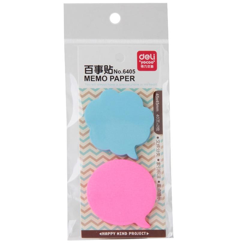 3 Kind Memo Pads Stickers Zelfklevende Zelfklevende Memoblaadjes Elk - Notitieblokken en schrijfblokken bedrukken
