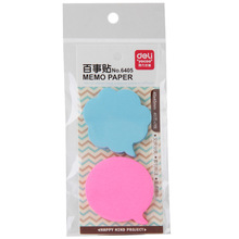 3 Kind Memo Pads Autocolante Autocolante Sticky Notes Fiecare pachet include 2 bucăți 40 foi Post It Office și Business Deli 6405