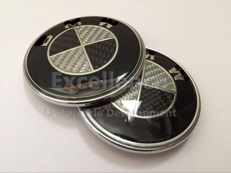 K1600GTL R1200RT R1200ST Fairing carbon fibre Logo 70MM Free shipping