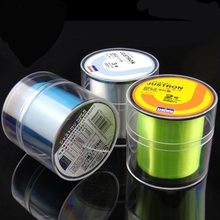 2015 new 500M Fluorocarbon Strong Quality Fishing Line 0.148-0.467mm 7-42LB Nylon brand fly fishing line pesca