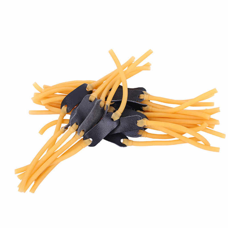 Elastic rubber band bungee replacement for slingshot catapult hunting JG G3